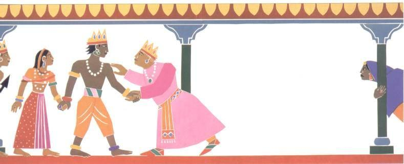 A good man, called Rama, was married