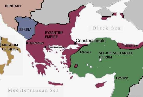 a) After Justinian s rule, the Byzantines