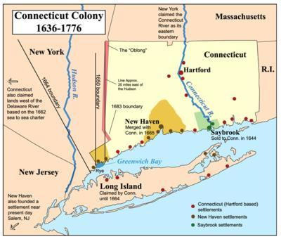 Colony #4: Connecticut Founded by a clergyman by then name of Thomas Hooker.