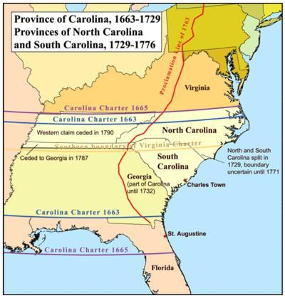 Colony #7: North Carolina Founded in 1663 by English nobles.