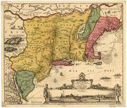 Colony #10: New Jersey Map of New Netherland (17th century) The Duke of York split this land in half for two friends.