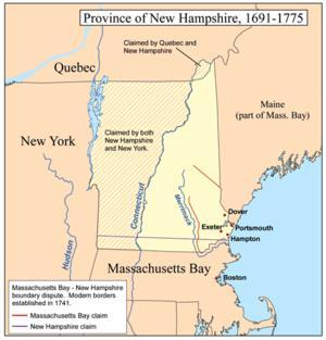Colony #11: New Hampshire Sold to the king of England in 1679.
