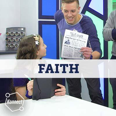 What is faith? Wednesdays in Adventure Alley Well, it isn t just a fancy word we use to sound special. It s something that involves deep belief, connection, and action.