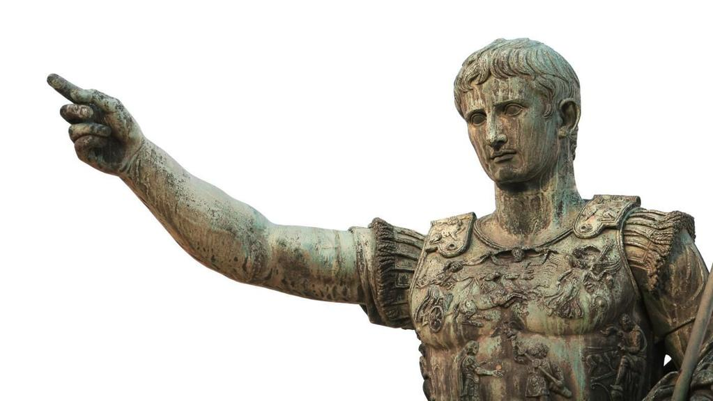 Julius Caesar was succeeded by his adopted
