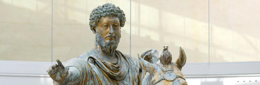 Marcus Aurelius was the last of the five good emperors.
