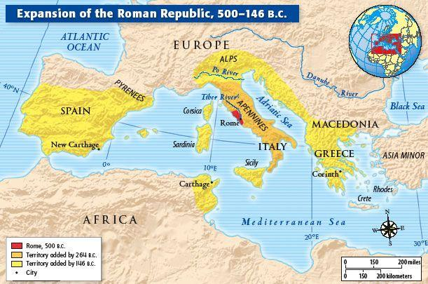 During the early years of the Republic, Rome