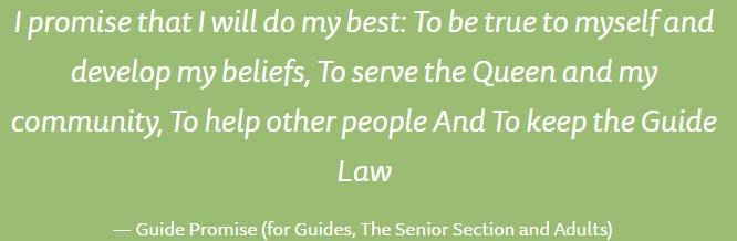 UNITED KINGDOM UK Guide Law (for Guides, The Senior