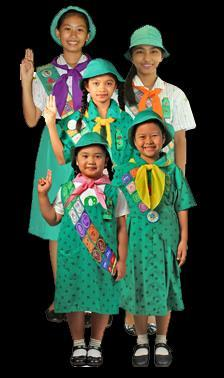 A Girl Scout is a friend to all and