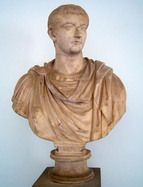 TIBERIUS 14 AD to 37 AD Adopted son