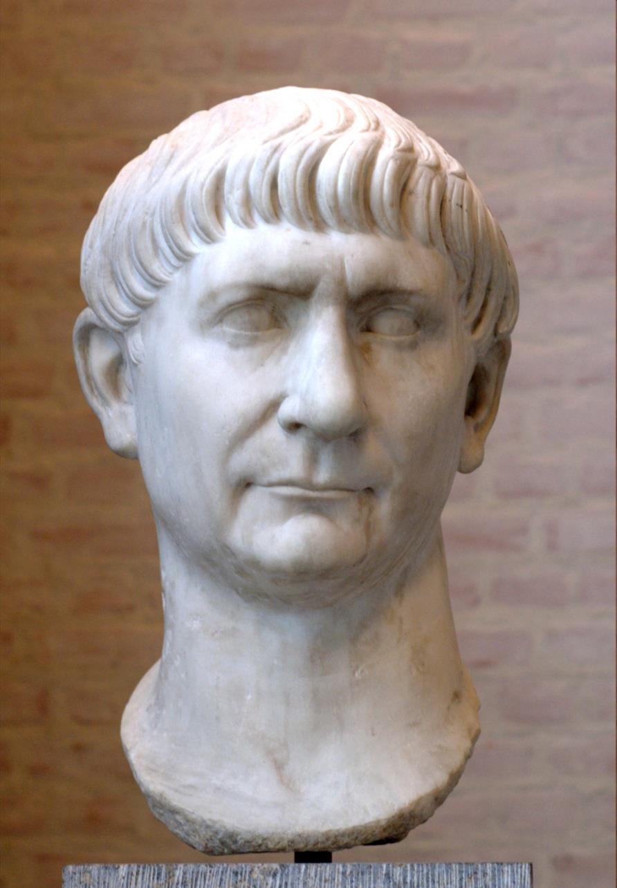 TRAJAN 98-117 AD Extended empire to largest