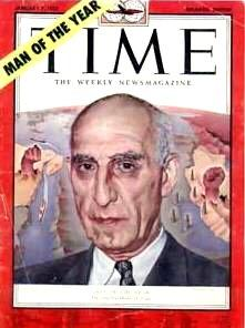 Mohammed Mossadegh Democratically elected Prime Minister of Iran Very popular