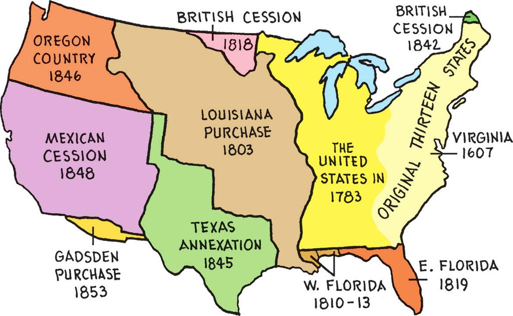 The United States renounced its claims to Texas and assumed the claims of U.S. citizens against Spain.