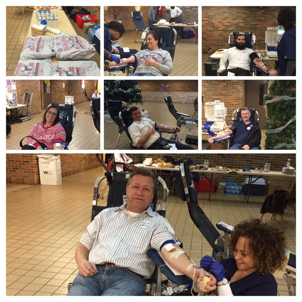 SS. Peter and Paul Blood Drive On Thursday December 14th Saints Peter and Paul once again sponsored a very successful blood drive.