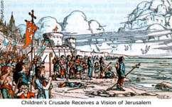 The Children's Crusade in 1212 CE led to the death or enslavement of hundreds of children seeking to fulfill God s wish The Spanish Crusade: In Spain, Muslims called Moors had settled and created