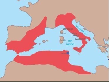 The Roman domain after the defeat of Carthage (246-146 B.