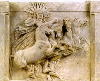 From The Masters and their Retreats: By Mark Prophet and Elizabeth Clare Prophet Helios is the God of this solar system and with his twin flame, Vesta, he serves to represent the God-head to those