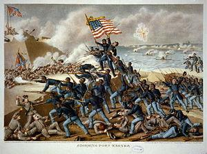 54 TH MASSACHUSETTS First military unit consisting of black soldiers raised in the North Emancipation Proclamation use of free black men as soldiers Controversial/ lots of attention Black man's