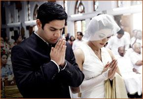 Eucharistic Prayer III: Strengthen, we pray, in the grace of Marriage N. and N.