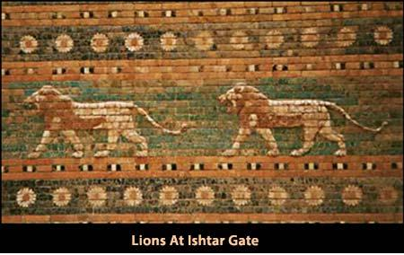 human race. Babylonian Empire. These four beasts represent the same kingdoms that we saw in Daniel 2. The first one is a winged lion. The first was like a lion and had the wings of an eagle.