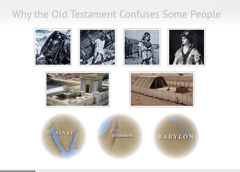 They enjoy the stories of Moses and Samson and Esther and Ruth. They re familiar with the temple and the tabernacle, and they recognize the names of places like Sinai, Jerusalem, and Babylon.