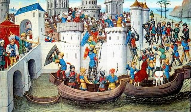 The Fourth Crusade The truce did not last, and a fourth crusade was launched in 1202-1204. To pay Italian traders who were transporting the Crusaders they agreed to attack the Byzantine city of Zara.
