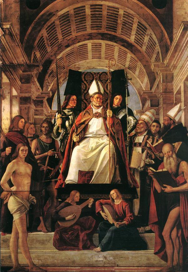 St. Ambrose (339-397) Son of a Roman official, became a governor of northern Italy in Milan In 374, the bishop of