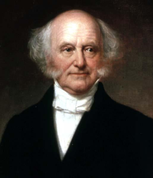 Jackson chose not to run again in 1836 Vice President Martin Van Buren was nominated.