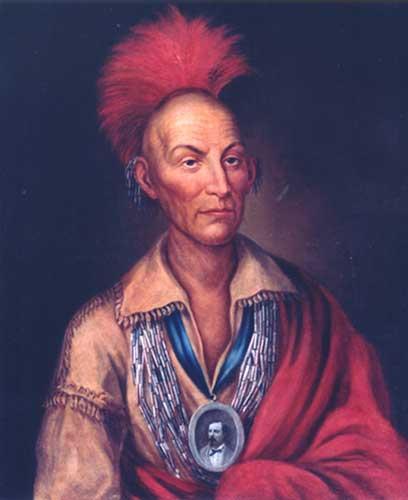 Chief Black Hawk of the Fox and Sauk fought rather than leave Illinois.