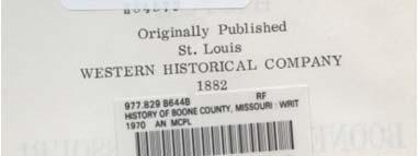 County Histories And YOUR