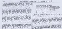 A fire during the Civil War consumed it and records were