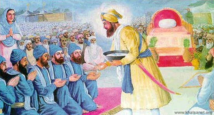 What is the Khalsa? The word KHALSA means pure ones.