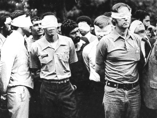 Topic 1: The Iranian Hostage Crisis On the morning of November the 4 th, the American Embassy in Tehran was stormed, and more than 60 Americans were taken hostage.