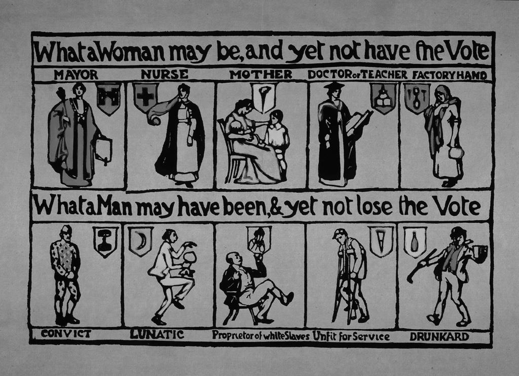 SECTION A Britain: Power and the people Answer all four questions Source A for use in answering question 01. Source A A poster printed by suffragettes in 1912.