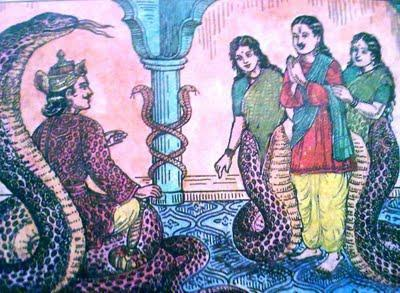 The demons did not approve of this as they suspected that the gods would learn the Sanjivani mantra from Shukracharya and then it would be impossible for them to win a victory over them.