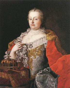 Austria MARIA THERESA (1740-1780) Character counts: Religious, artistic, caring Increased her power and cut the power of the nobles.