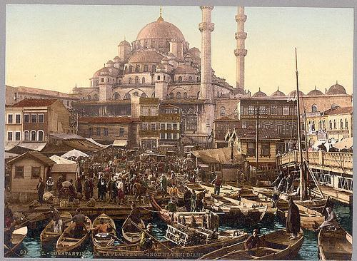 Constantinople The Muslims living in the area of Turkey