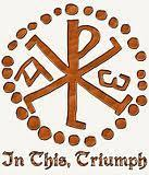 Christian symbol called the Chi Rho Because of this,