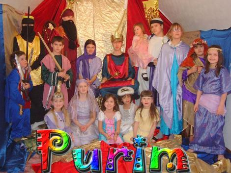 Purim remembers the events recorded in the book of Esther in which