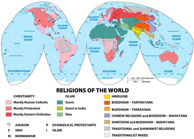 Religions of the World Hearths of Religion and Philosophy by 500 BCE Slide 13 of 56 Slide