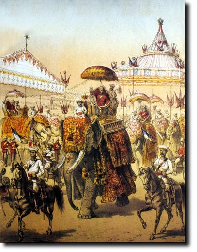 Imperial India The Delhi Durbar Means Court