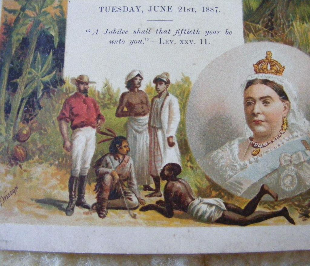 Imperial India The Queen s Jubilee Celebrations 1887 = 50 years
