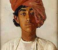 Imperial India People and Portraits Austrian painter Rudolf Swoboda was
