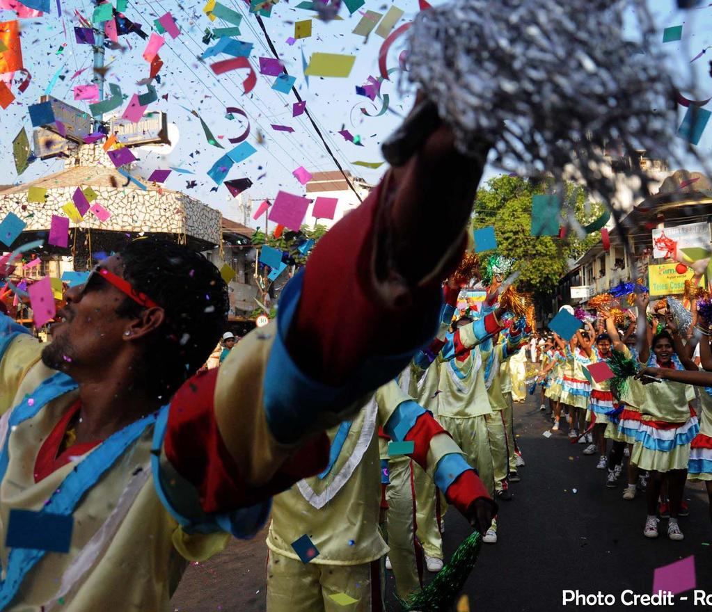 Modern India Carnaval The Catholic tradition of Carnival, brought to