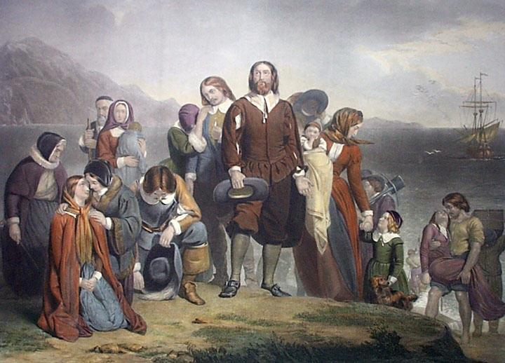 PILGRIMS Separatists to Holland then head for Virginia Mayflower takes Separatists and others to