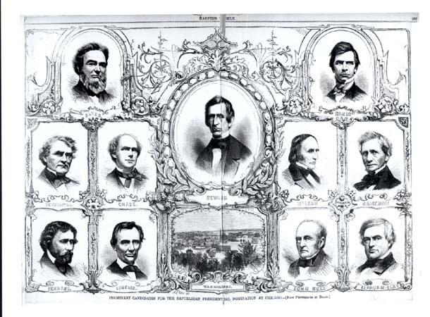 In his debates with Douglas, Lincoln had made a name for himself within the Republican party and was asked to run for the office of President in 1860.