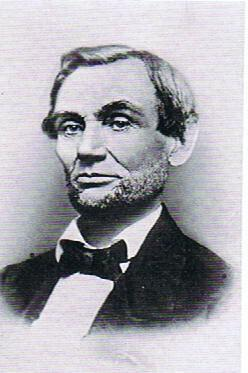While campaigning for the presidency Lincoln was pressured by advisors to grow a beard as was common among men at