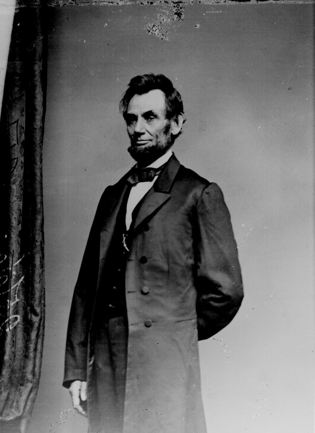 Lincoln is said to have received a letter from a young girl telling a tale of how here siblings would surely vote