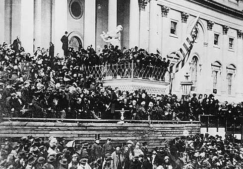 As Lincoln took office the south had begun to separate from the Union.