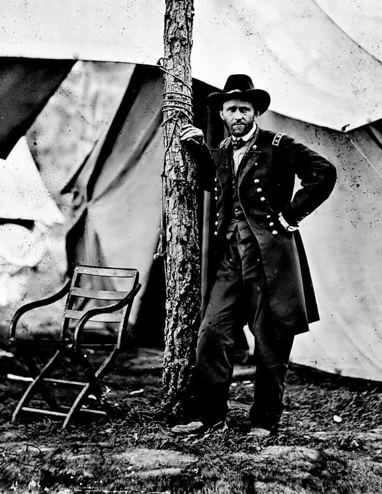 Ulysses S. Grant was then assigned the duty of leading the Union soldiers.