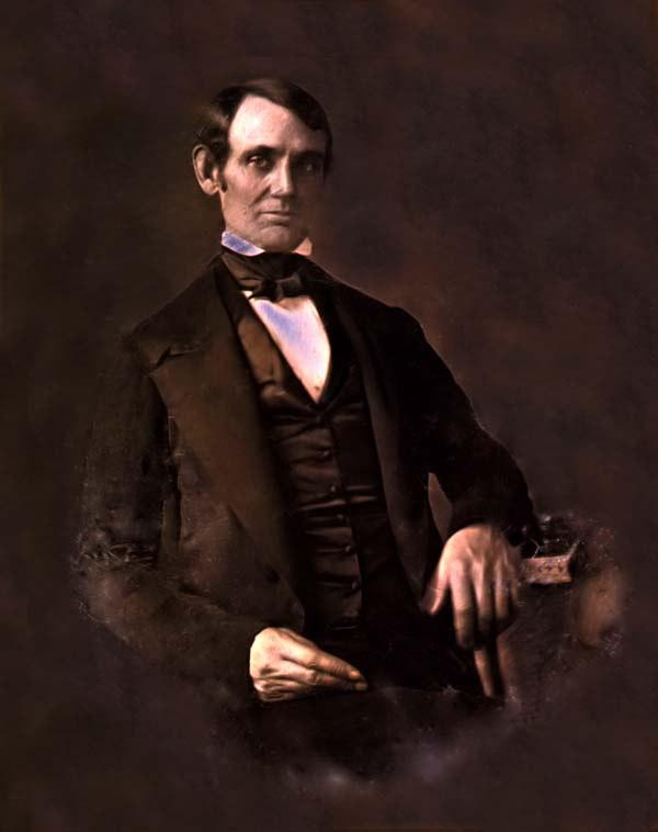 This is the earliest known photo of Abraham Lincoln.